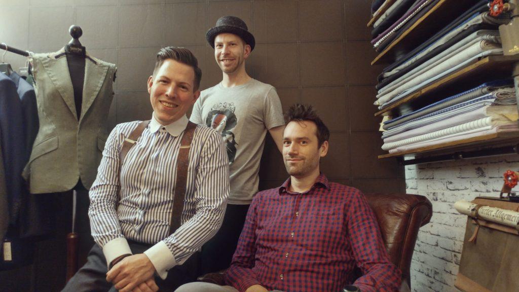 Zu Besuch im Atelier Sebastian Hoofs zum Interview für Ausgang Podcast